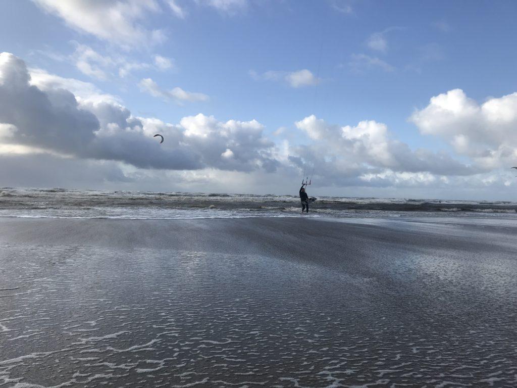 Kitesurfles Wijk aan Zee